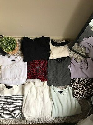 Bundle Tops X10 Topshop New Look & Other Stories Zara Forever 21 Top