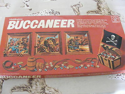 Buccaneer Board Game - 1970s, Good Condition good for spares