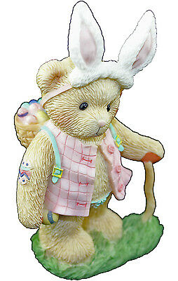 Cherished Teddies Toni Delivering Happy Easter Wishes 4009175 Boxed