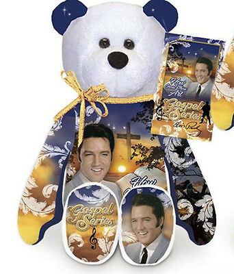 "Elvie How Great Thou  Elvis Presley Limited Treasures 9""  Plush Collectible Bear"
