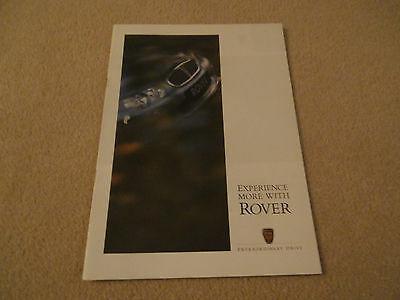 Rover 25.45. 75 brochure. In uncirculated Mint condition