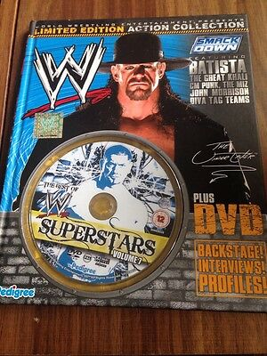 WWE Superstars Limited Edition Book & DVD Vol 7