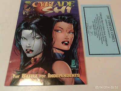 Cyblade Shi Battle For Independents Golden Apple Spcl Limited Ed Vol 1, #1 Fp