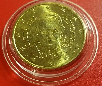 Vatican 50 cents 2016 Euro coin Pope Francis