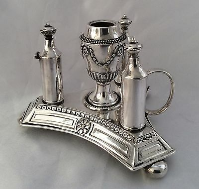 Very Rare 19th Century Silver Plated Chamberstick Early Mappin & Webb S&L C.1860