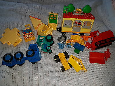 Lego Duplo 3296 Bob the Builder Travis & the Mobile Caravan + lots  more