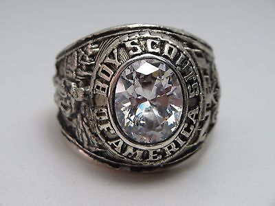 S29, Ring , The  United States , Us , Boy Scouts America  , Bsa Ring ,size 10.75