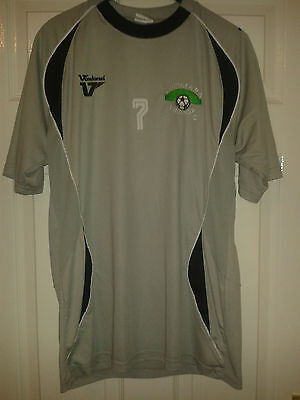 Mens Football Shirt - Dromara Village FC - PLAYER WORN - Northern Ireland - S/M