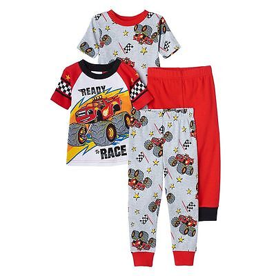 Blaze And The Monster Machines Pajamas Size 2T 3T 4T New!