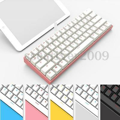 Anne PRO Blue/Red/Brown Switch RGB Wireless Bluetooth Mechanical Gaming Keyboard