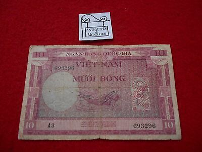 Vietnam Billet De4 10 Dong  693296 - Old Bank Note