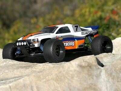 Hpi Racing Nitro Rs4 Mt 2 Dirt Force 7130 Dirt Force Clear Body - Genuine Part!