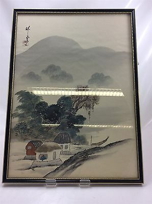 Japanese Picture Hand Painted on Silk