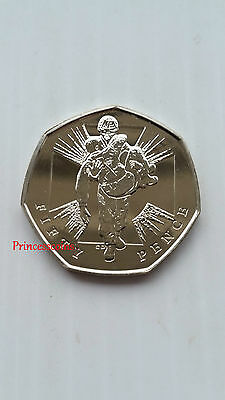 2006*unc*uk Heroic Action Fifty Pence 50P Coin