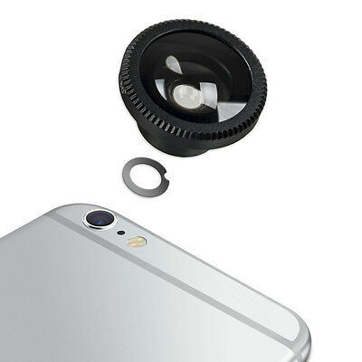 kwmobile  MAGNETIC CAMERA LENS FOR APPLE IPHONE 6 PLUS / 6S PLUS BLACK