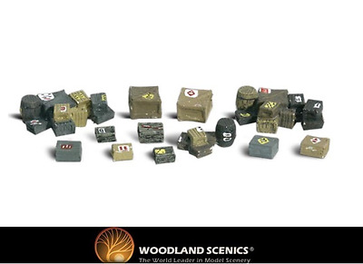 Woodland Scenics A2162 Assorted Crates N Gauge