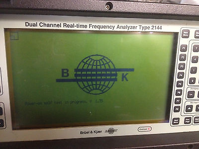 Bruel & Kjaer B&K 2144 - Dual Channel Realtime Frequency Audio Spectrum Analyzer