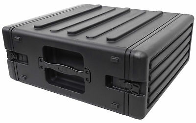 SKB 1SKB-R4 4U Ultimate Strength 4U Rear Rail Roto Molded Rack Case 1SKBR4
