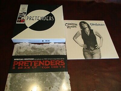 "Pretenders Breaking Concrete 10""/cd + 9 Lp Box Set + Hynde  + 3 Mfsl Sacd's"