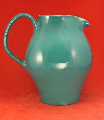 Russel Wright Iroquois - Aqua or Turquoise - Redesigned Water Pitcher - Casual