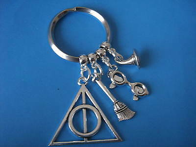 Deathly Hallows Keyring Harry Potter themed Gift