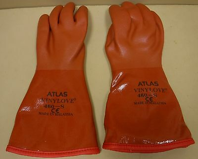 Atlas 460-S Vinylove Cold Resistant Insulated Gloves Size Small