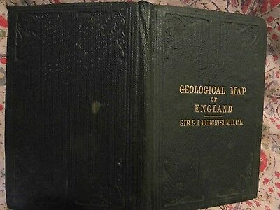 England,wales Geological; Survey-1864-Engraved Hand-Coloured:murchison,stanford