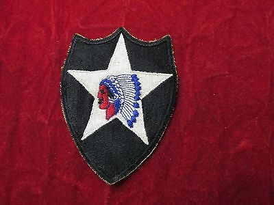 WW 2 2nd Infantry Division US Army Patch