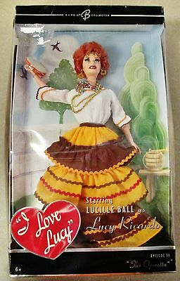 2005 I LOVE LUCY Barbie Doll Lucille Ball The Operetta Episode 38 (Damaged Box)