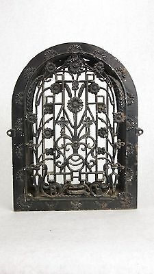 1870's Arch Top Heat Register/Grate/Vent Cast Iron Tuttle & Bailey