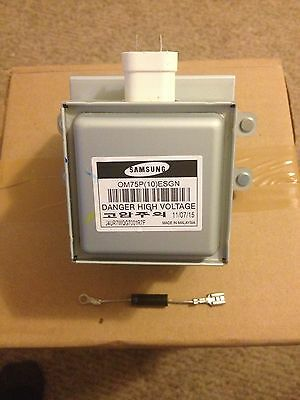 SAMSUNG MAGNETRON OM75P ( 10 ) ESGN  WB27X10017 (out of diode)