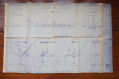1976 Buckinghamshire Line Railway Track Plan Oxford Branch Claydon Verney