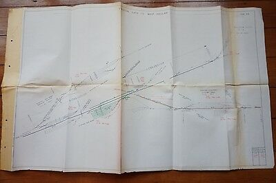 1976 Stainton Gate to West Hallam Line Railway Track Plan
