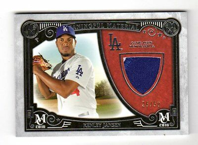 Kenley Jansen Mlb  2016 Topps Museum Meaningful Material Prime Relic (Dodgers)