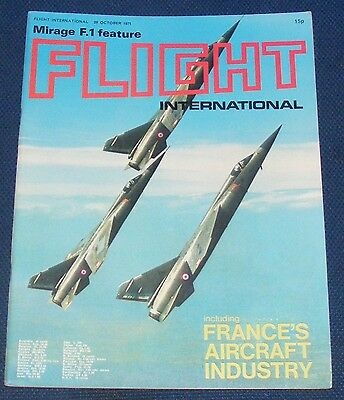 Flight International October 28 1971 - France's Aircraft Industry