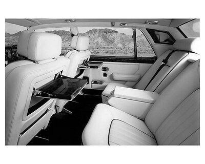 1987 Rolls Royce Silver Spur Interior ORIGINAL Factory Photo ouc0911