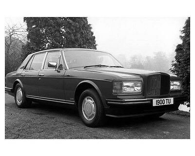 1985 Bentley Turbo R ORIGINAL Factory Photo ouc0955