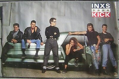 "1987 INXS****KICK - 22""x35"" Horizontal Color Poster"