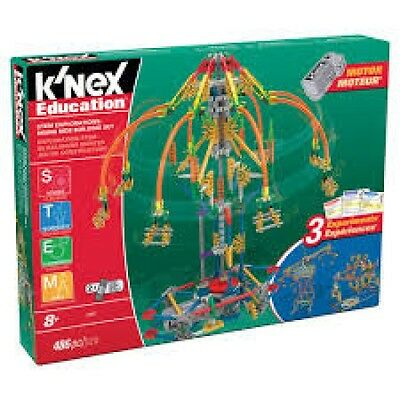 K'Nex STEM Explorations Swing Ride Building Set Brand New