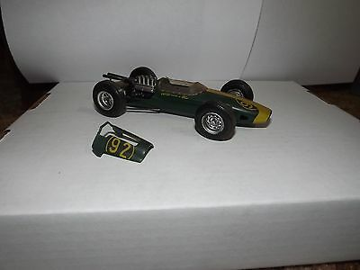 Vintage F1 #92 Indy Car Race  AMT/MPC Model Kit Modified & Painted Big Motor