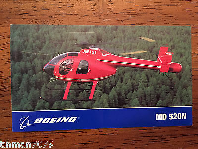 Boeing MD 520N HELICOPTER  STICKER