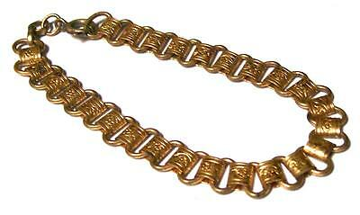 VICTORIAN REVIVAL BOOK CHAIN BRACELET-Great for Jewelry Designs-Estate