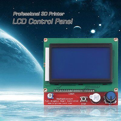 3D Printer Smart Controller For RAMPS1.4 LCD 12864 LCD Control Panel Board D@LK