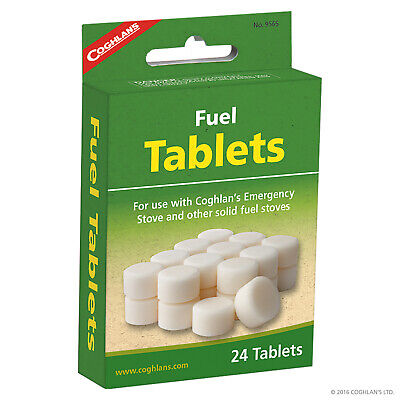 Coghlans Fuel Tablets For Use With Emergency Stove - 24 Tablets (Cog 9565)