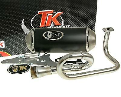 Exhaust Sport with E Characters Turbo Kit GMax 4T for GY6 139QMB 50 cc 4T