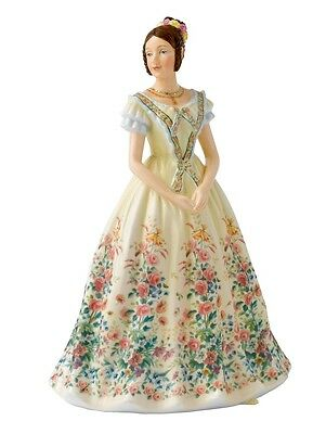 New Royal Doulton Hand Painted Porcelain Figurine Young Queen Victoria Hn5705