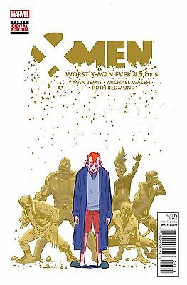 X-MEN: WORST X-MAN EVER #5 (OF 5), New, First print, Marvel Comics (2016)