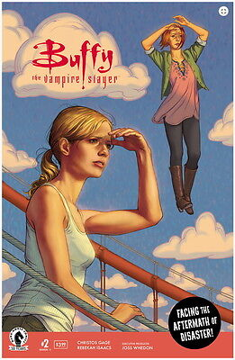 BUFFY THE VAMPIRE SLAYER SEASON 11 #2, MAIN COVER, New, Dark Horse (2016)