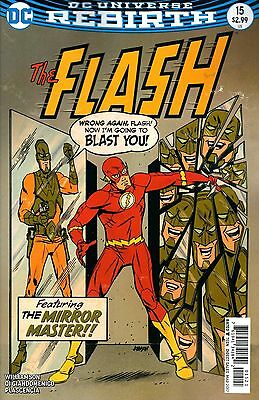 FLASH #15, VARIANT, New, First Print, DC REBIRTH (2017)