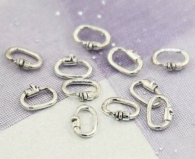 """STERLING SILVER LINK LOCKS"" Securely Attach Charms & More - No Jeweller Needed"